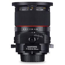 Samyang T-S 24mm f/3.5 ED AS UMC Tilt-shift für Pentax K-Ausverkauf KURIER FREI