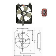 Condenser Fan Assembly Fits: 1998 1999 2000 2001  2002 Honda Accord L4 2.3
