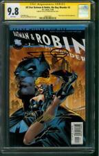 All Star Batman & Robin 3 CGC 2XSS 9.8 Jim Lee Frank Miller Top 1 Signed