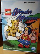 IN HAND LEGO DC Wonder Woman 77906 Limited Edition DC Comic Fandom!