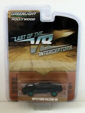 Greenlight 44770-A Last of the V8 Interceptors 1973 Ford Falcon XB Toy Car - Black