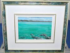 Original Barbara de Mora Painting La Fleuve II