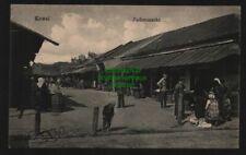 136038 AK Kowel ?????? Ukraine um 1915 Judenmarkt Juden Jewish market Jews