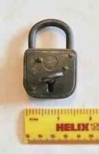 Vintage/Antique ABUS Metal Padlock with Key   (3/1160)
