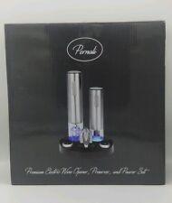 Pernali Premium Stainless Steel Electric Wine Opener Corkscrew, Electric Wine