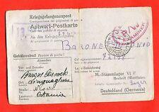 MILITARY-World War 2/WW2- Italian prisoner - STALAG VI A, HEMER (187-d53)