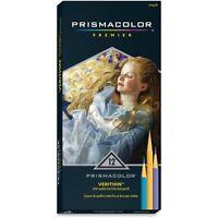 12 Prismacolor Verithin Colored Art Pencils Asst Color