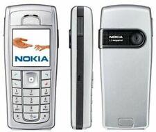 Original Nokia 6230i Cover Oberschale + Tastatur Nokia 6230  Silber beige Neu