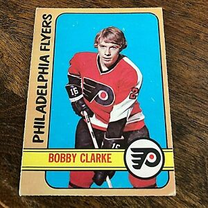 1972-73 O-Pee-Chee #14 Bobby Clarke   Philadelphia Flyers