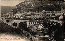 CPA ST CLAUDE Pont Central en béton armé, sur la Bienne (446428)