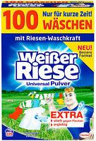 Weißer Riese Universal Pulver Waschmittel Waschpulver 1 Pack 100 Waschladungen