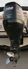 Outboard motor 2013 Suzuki 200 HP, less than 55 hrs. Used in FRESH WATER