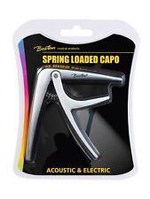 Boston spring Loaded  capo BC-85-WH white   capo  electric or accoustic