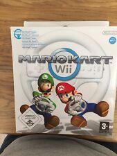 Official Genuine Nintendo Wii Mario Kart Steering Wheel In Box