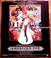 American Pop (modèle 1/2) - Ralph BAKSHI - Affiche Cinéma