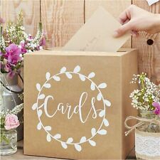 Wedding Card post box Rustic Look