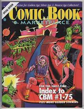 Comic Book MarketPlace Special  #3    (  Index Issue   ) VFN/NM