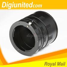 Macro Extension Tube Ring Set for Pentax K PK mount K10D K200D K2000 K-5 K-x K-r