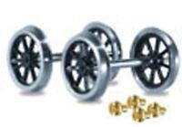 Peco RO-1 1 x Pair Spoked Wagon Wheels & Brass Bearings Kit '0' Gauge - 1st Post
