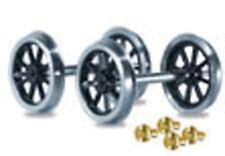 Peco RO-1 1 x Pair Spoked Wagon Wheels & Brass Bearings Kit '0' Gauge - T48 Post