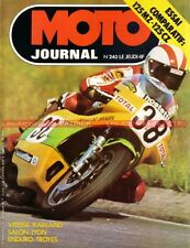 MOTO JOURNAL  240 CZ 125 Type 476 MZ TS Portal à moteur Sachs Patrick PONS 1975