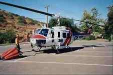 505091 dipartimento della silvicoltura goccia d'acqua Elicottero MW 1H HUEY A4 FOTO STAMPA