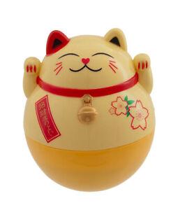 Grande Tirelire Chat Japonais 15 cm Porte-Bonheur Maneki Neko lucky cat 54