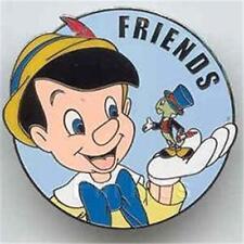 Pinocchio+Jiminy Friends Series Surprise Release 2003 Le Wdw Disney Pin