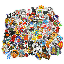 100 Random music film Vinyl Skateboard Guitar Travel Case sticker lot pack decal