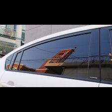 Black Door B Pillar Mirror Plate Molding For KIA All New Rio Pride 2012~2015