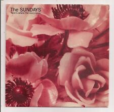(THE SUNDAYS -Here's Where the Story Ends/Skin & Bones)-I7-7
