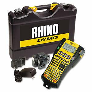 DYMO Rhino 5200 Industrial Label Maker Kit 5 Lines 4 9/10w x 9 1/5d x 2 1/2h