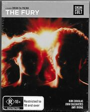 The Fury Blu Ray New(A Brian De Palma Film)Includes Slipcover Region B Free Post