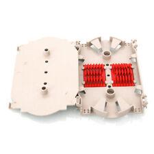 10pcs/lot 12 Core Fiber Optic Splice Tray White Pigtail Fiber Splicing Plate