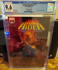 COSMIC GHOST RIDER #1 CGC 9.6 PARRILLO VARIANT COVER A UNKNOWN COMIC BOOKS EXCLU