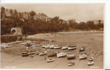 Wales Postcard - Tenby - Showing Boats and Houses - Pembrokeshire - Ref ZZ5332