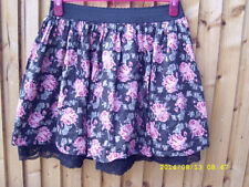 New Look Cotton Party Floral Skirts for Women