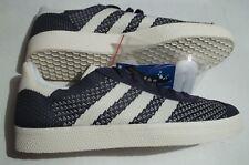 New Adidas Originals Gazelle Men's 8 Primeknit Shoes Nemesis Off White BY9779
