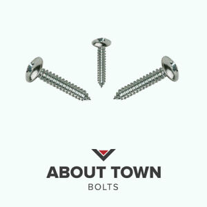Flanged Head Self Tapping Screws  Stainless Steel A2 6g.8g,10g,.12g