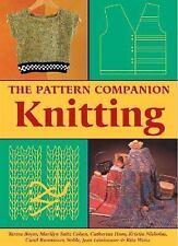 The Pattern Companion: Knitting, Boyer, Teresa, Good Condition, Book