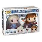 Funko Pop! 3 Pack Special Edition Frozen 2 Eiskönigin 2 Elsa Olaf Anna Disney
