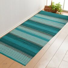 Indian Hand Loomed Cotton Rugs Carpet Runner Oriental Area Rugs Dhurrie 2X4ft
