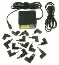 CHARGEUR UNIVERSEL 65W POUR PC PORTABLE AVEC 14 EMBOUTS M93295 *NEUF*