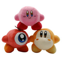 3pcs Kirby Waddle Dee and Waddle Doo Plush Doll Stuffed Animals Toy Gift