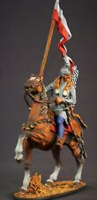 Tin toy soldier 54 mm Elite painting in St.Petersburg.Polish Hussar
