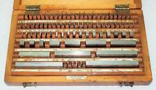 Endmaßkasten Endmaße made in USSR 83 tlg 0,5 bis 100 mm