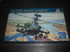 ITALERI  AH-64D APACHE LONGBOW  PLASTIC MODEL 1/72