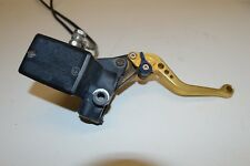 2005 Kawasaki Z1000 ZR1000 rear brake lever with hoses and master cylinder