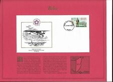 First Day Issue Official Commemorative Stamp Of Belize March 29, 1976 decor
