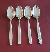 Camlynn by Oneida 4 Teaspoons Spoons Stainless Flatware Silverware